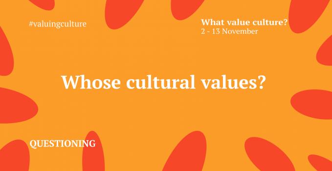 Whose cultural values?