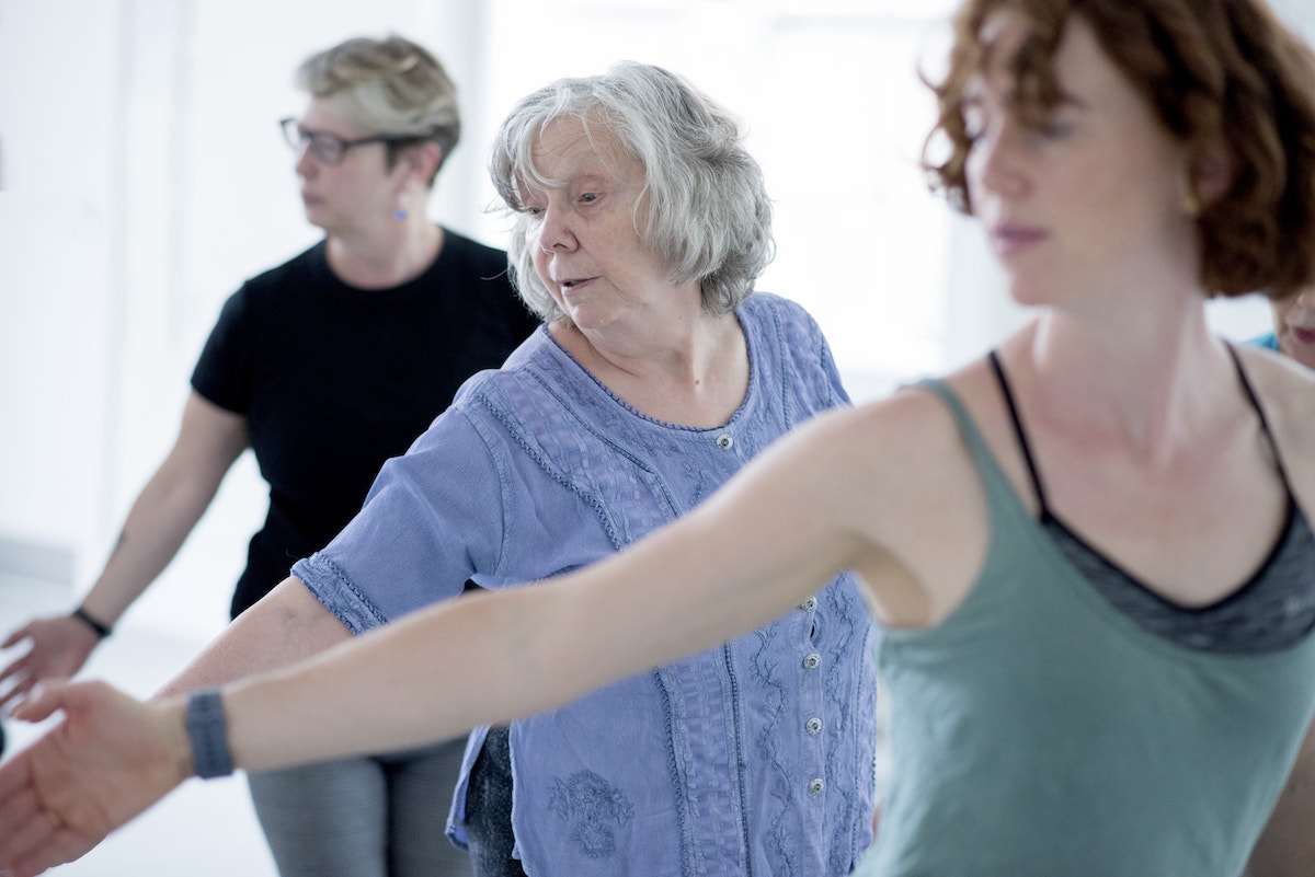 Dancers of Move Dance Feel at Paul's Cancer Support Centre