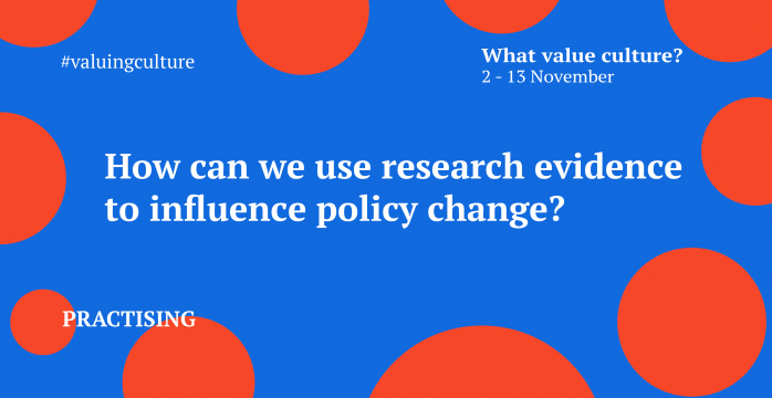 How can we use research and evidence to influence policy change?
