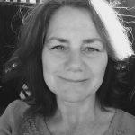 Black and white photo of Julia Negus.