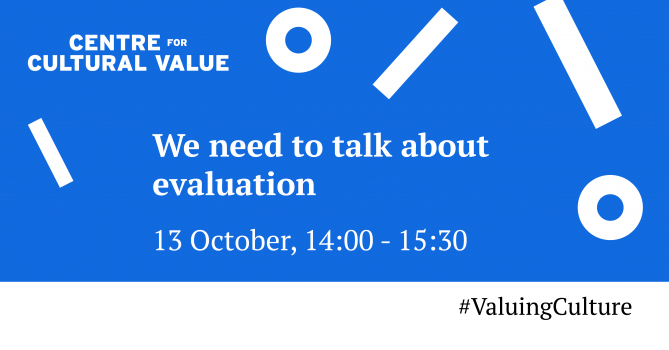 We need to talk about evaluation